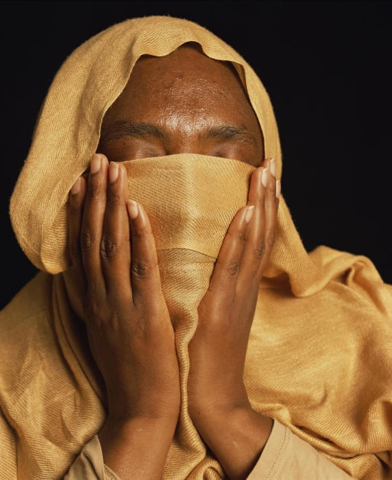 Fatima, was imprisioned and tortured in sudan (torture) - by Andres Serrano