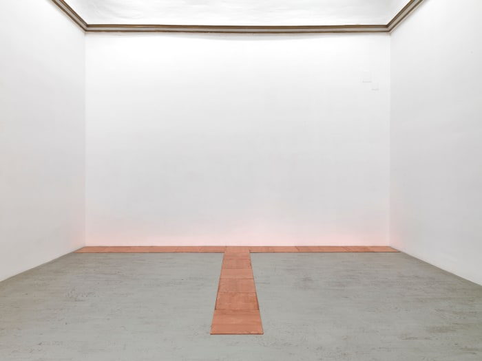 13 copper triode by Carl Andre
