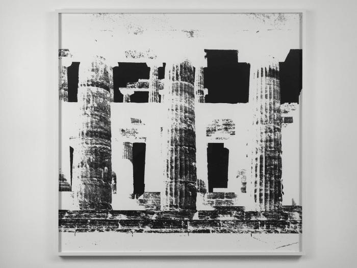 Temple of nettuno, paestum, XXII by Vera Lutter