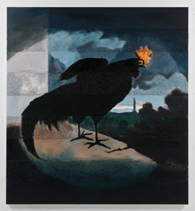 Cock, Interrupted by Allison Katz