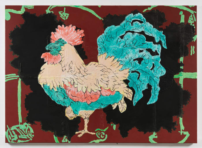 Year of the Cock by Allison Katz