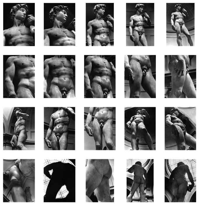 Untitled (Michelangelo's David) by Alair Gomes