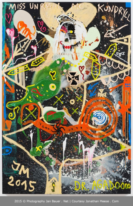 FLASH KUNDRALL by Jonathan Meese