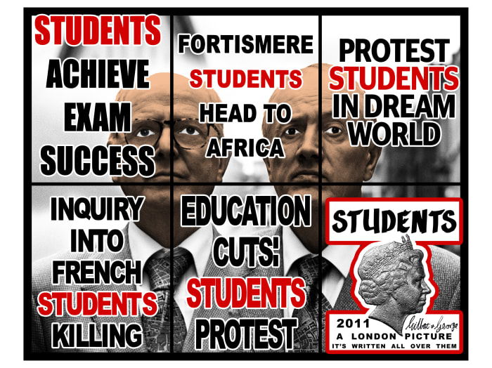 Students by Gilbert & George