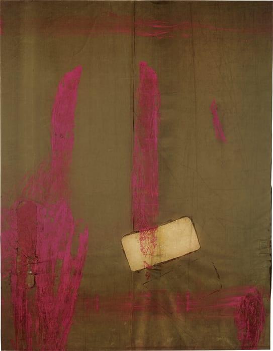 Painting Without Bingo II by Julian Schnabel