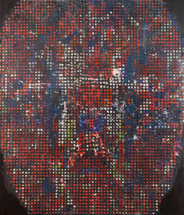 A Brain in the Room by Ross Bleckner