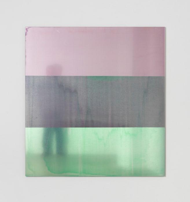 Quindo Rosa D (Kobaltblau Dunkel, Grünlich, Alizarinviolett) _ Ägyptischgrün (Heliogengrün) by Philipp Gufler