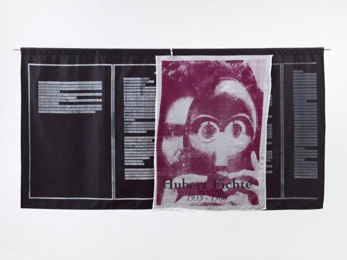 Quilt #1 (Hubert Fichte) by Philipp Gufler