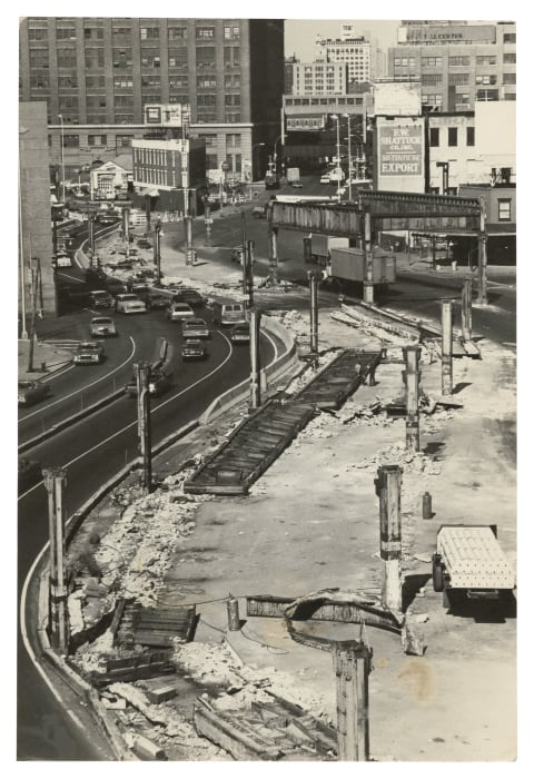 """""""Dismantled elevated West Side Highway"""" by Alvin Baltrop"""