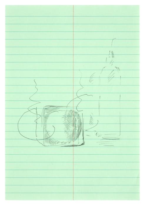 """MK/P 2019/08"" by Michael Krebber"