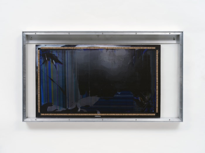 """""""Extractor screen 1"""" by Simon Denny"""