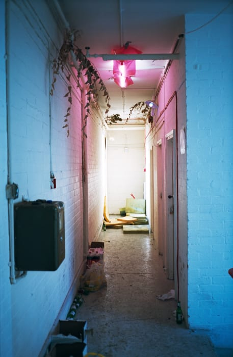 """corridor installation"" by Wolfgang Tillmans"