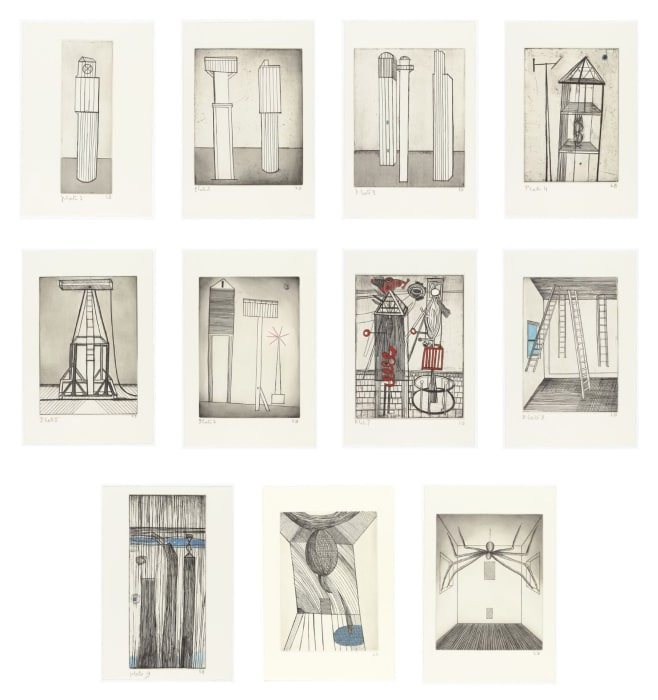 He Disappeared into Complete Silence by Louise Bourgeois