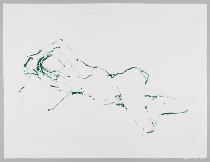 You Saw Me First by Tracey Emin