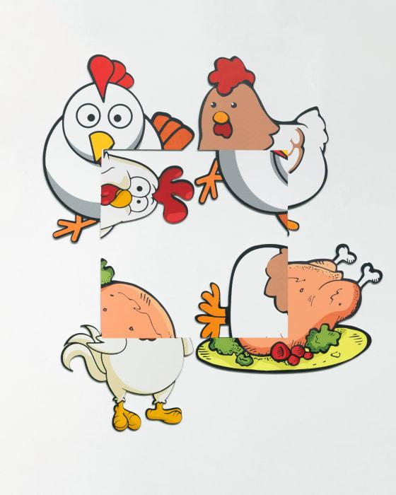 Chicken Rotation by Urs Fischer