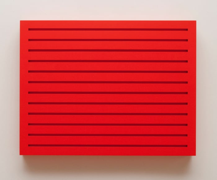 Untitled (woodblock 4R) by Donald Judd