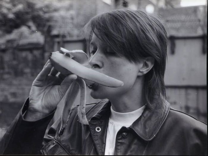 Eating A Banana (Revisited) by Sarah Lucas