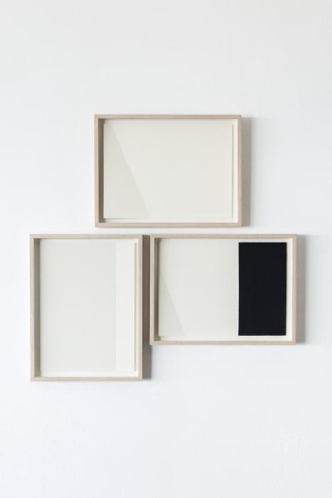 White and black compositions no. 01 by Darío Escobar