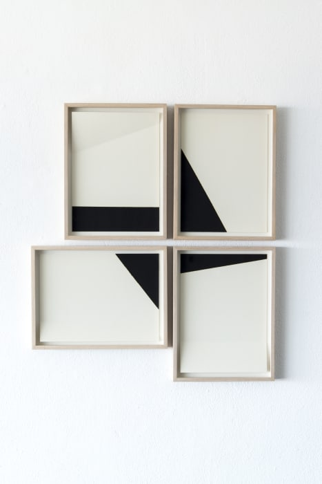 White and black compositions no. 04 by Darío Escobar