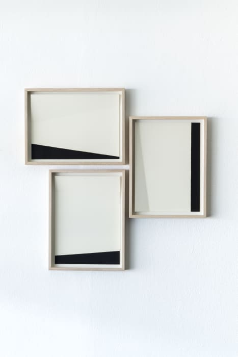 White and black compositions no. 05 by Darío Escobar