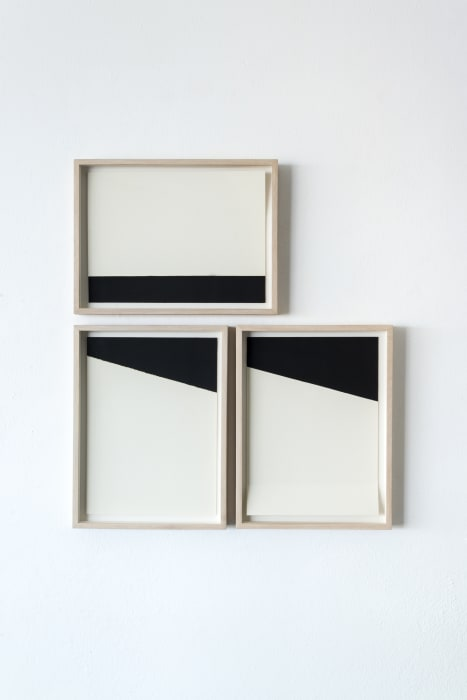 White and black compositions no. 06 by Darío Escobar