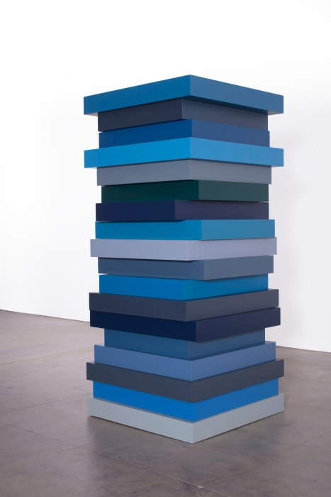 STACK BLUES by Sean Scully