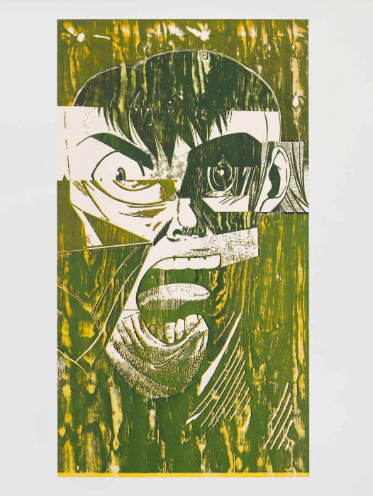 Scream (Tongue) by Christian Marclay