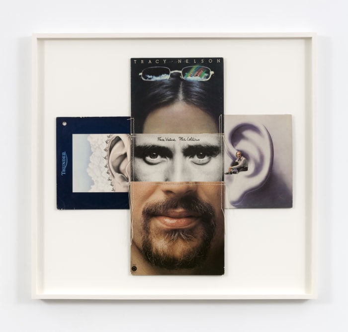 "Face Value (from the series ""Body Mix"") by Christian Marclay"