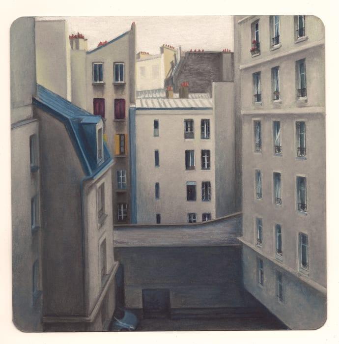 Cour rue du Faubourg Saint-Denis by Louise Sartor