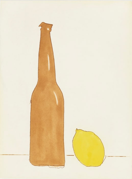 Beer with Lemon by Tom Marioni