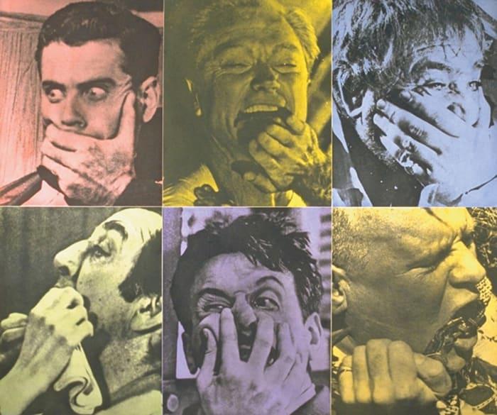 Six Colorful Gags by John Baldessari