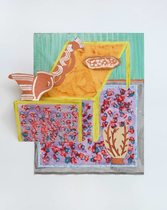 Table and Rug by Betty Woodman