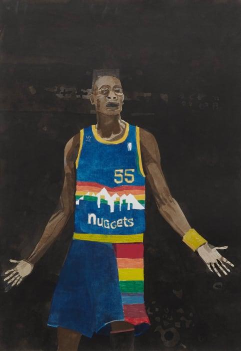 D. Mutombo by Jonas Wood