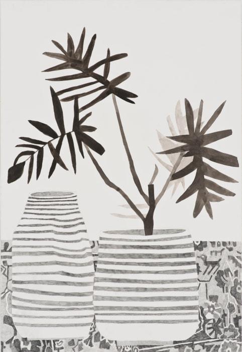 Still Life with Animal Pattern by Jonas Wood