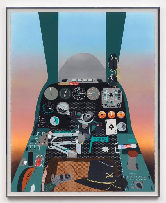 Concerning Vietnam: Bell AH-1 Cobra, Gunner's Seat (Air Cav) by Matthew Brannon