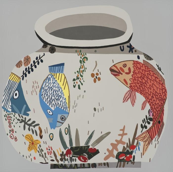 M.S.F. Fish Pot #6 by Jonas Wood
