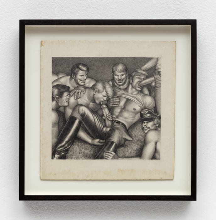 """Untitled (From """"Camping"""") by Tom of Finland"""