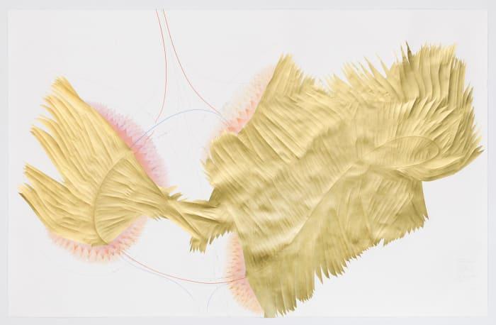 The Landing (Cavallini-Algorithmus) by Jorinde Voigt