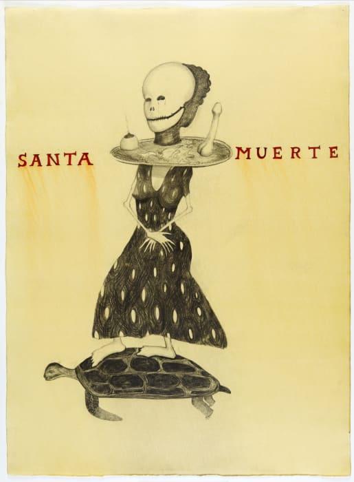 Santa Muerte by Sandra Vásquez de la Horra