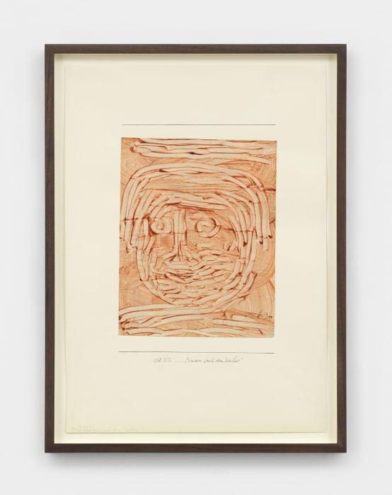 "Maske ""nach dem Verlust"" (Mask: After the Loss) by Paul Klee"