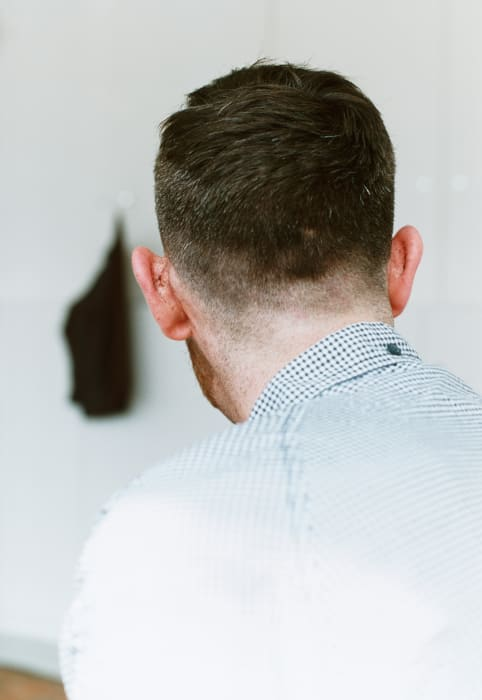 haircut by Wolfgang Tillmans