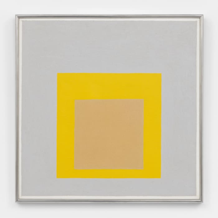 Study for Homage to the Square: Evensong by Josef Albers