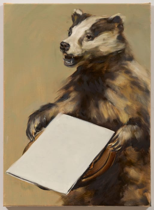 Black Mould / The Badger's Song II by Michaël Borremans