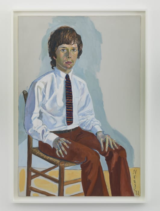 Martin Dennis by Alice Neel