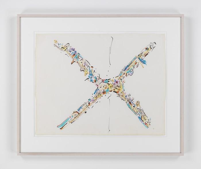 Crossed Trees by Gordon Matta-Clark