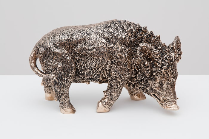 Wild Boar After Chemin by Sherrie Levine