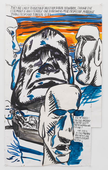 No Title (They are likely...) by Raymond Pettibon