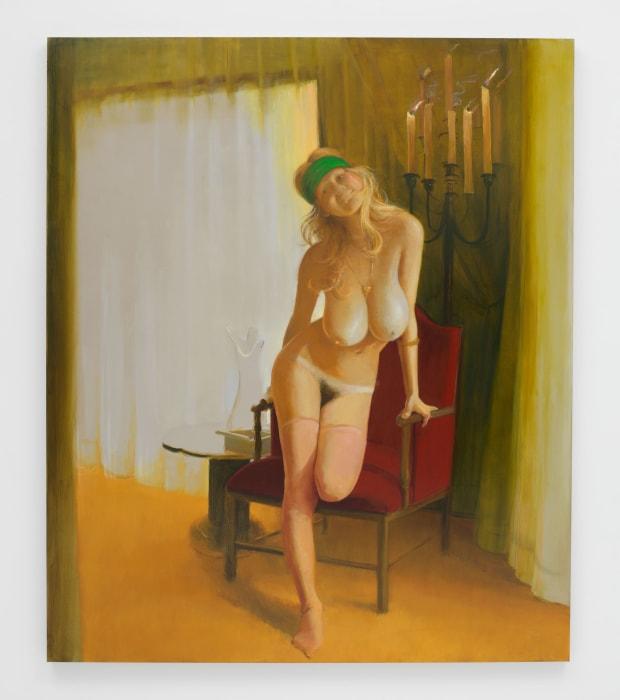 The Big Pleaser by Lisa Yuskavage