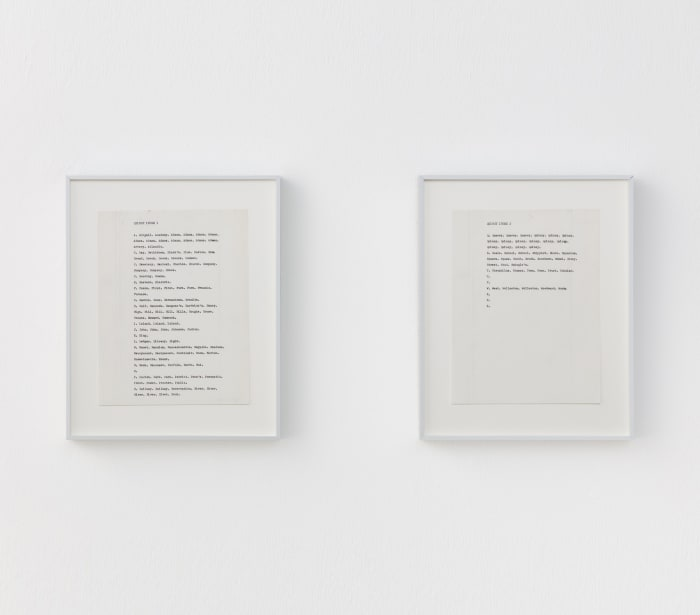 QUINCY INDEX 1 by Carl Andre