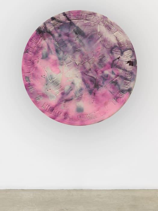 Pink, Purple (Random Square) by Kaari Upson